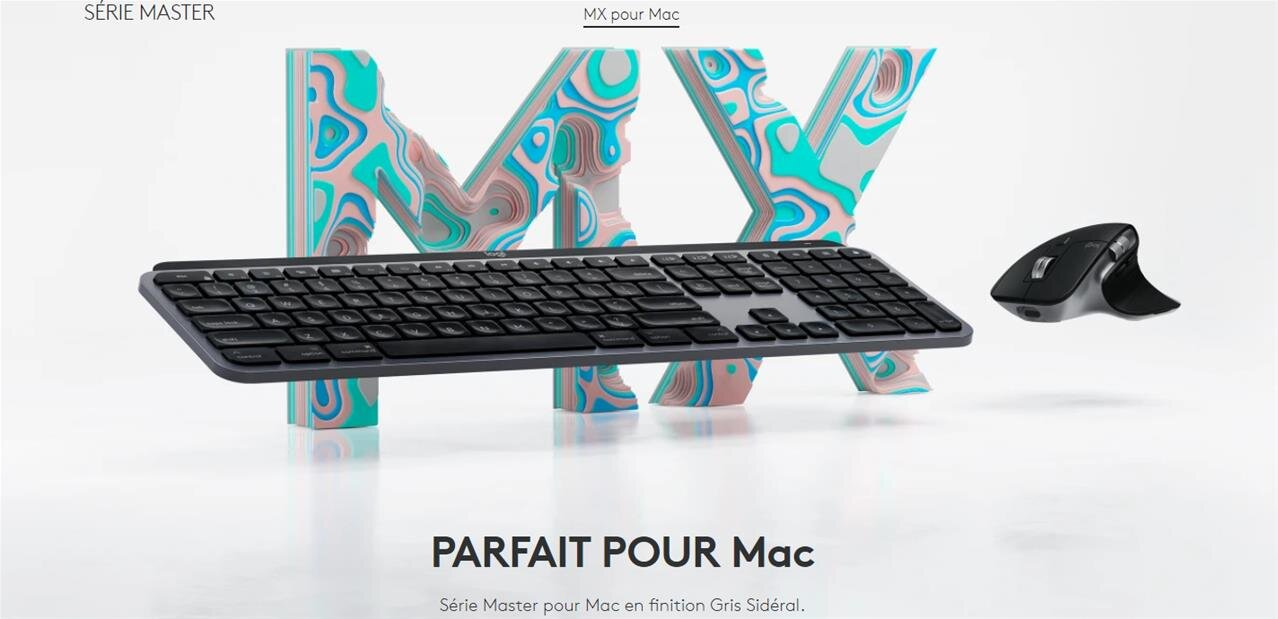 MX Master 3 et MX Keys: on a testé le duo clavier souris