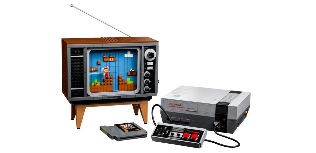 Un kit Lego Nintendo NES pour 230 euros, le pack Les Aventures de Mario à 60 euros