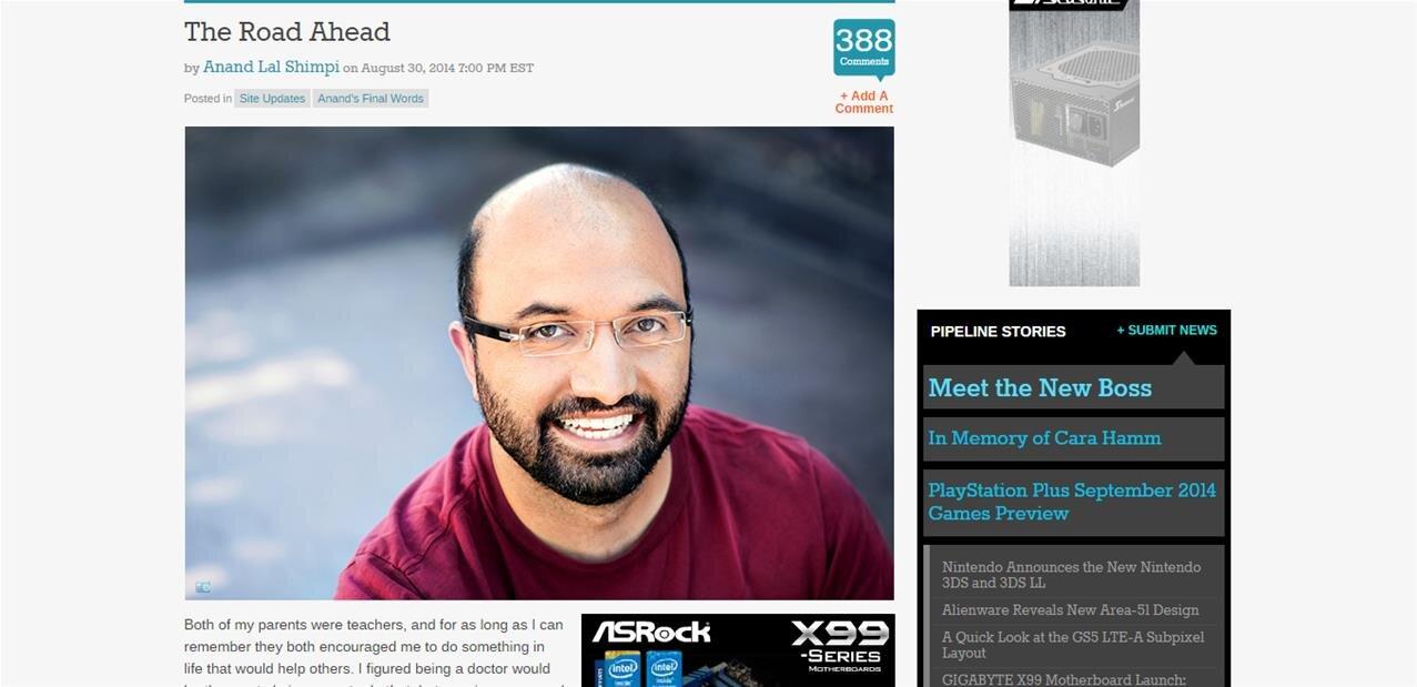 Fuites de données entre Apple et Nuvia : Anand Shimpi accusé d'envoyer des documents confidentiels
