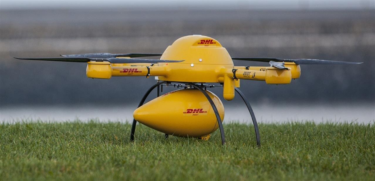 dhl autoris effectuer des livraisons par drone en allemagne. Black Bedroom Furniture Sets. Home Design Ideas