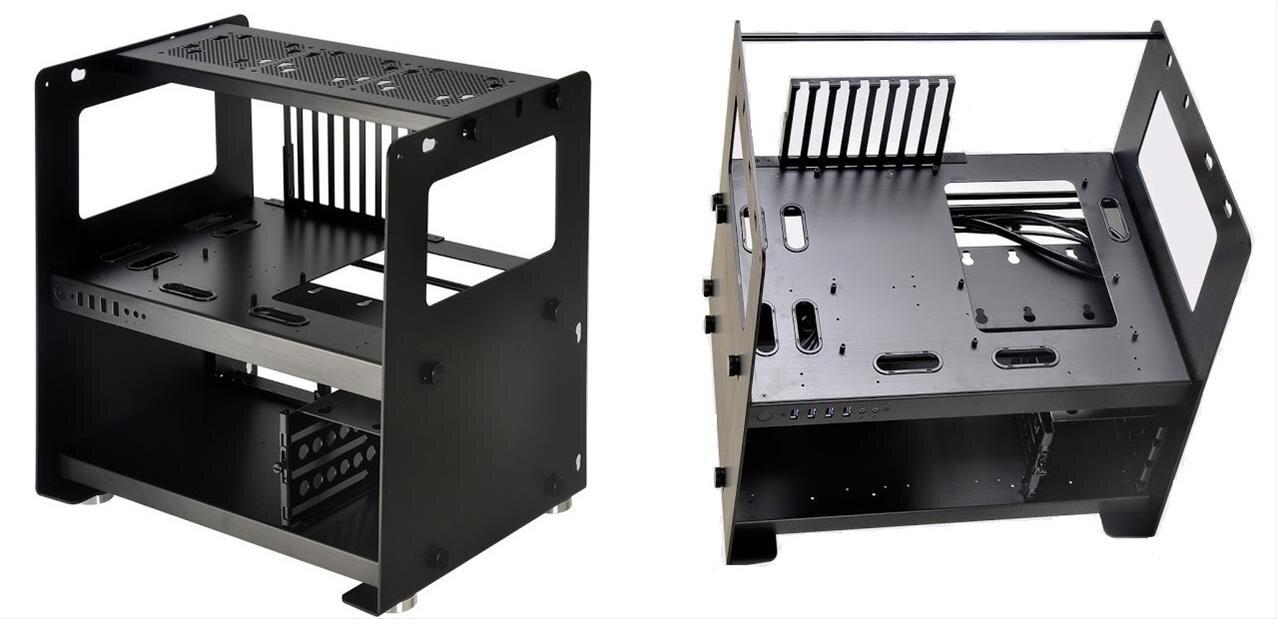 Pc T80 Lian Li Lance Une Table De Bench Tr 232 S Modulaire