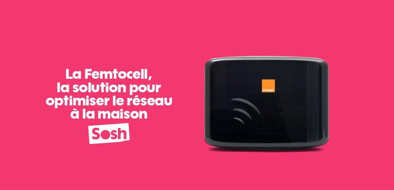 la femtocell v3 d barque chez orange et sosh et g re jusqu 39 8 utilisateurs. Black Bedroom Furniture Sets. Home Design Ideas
