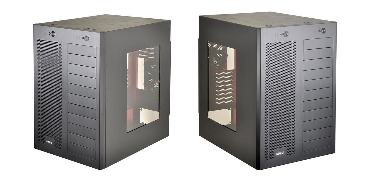 lian li pc d666 un bo tier pour deux configurations micro atx et e atx. Black Bedroom Furniture Sets. Home Design Ideas