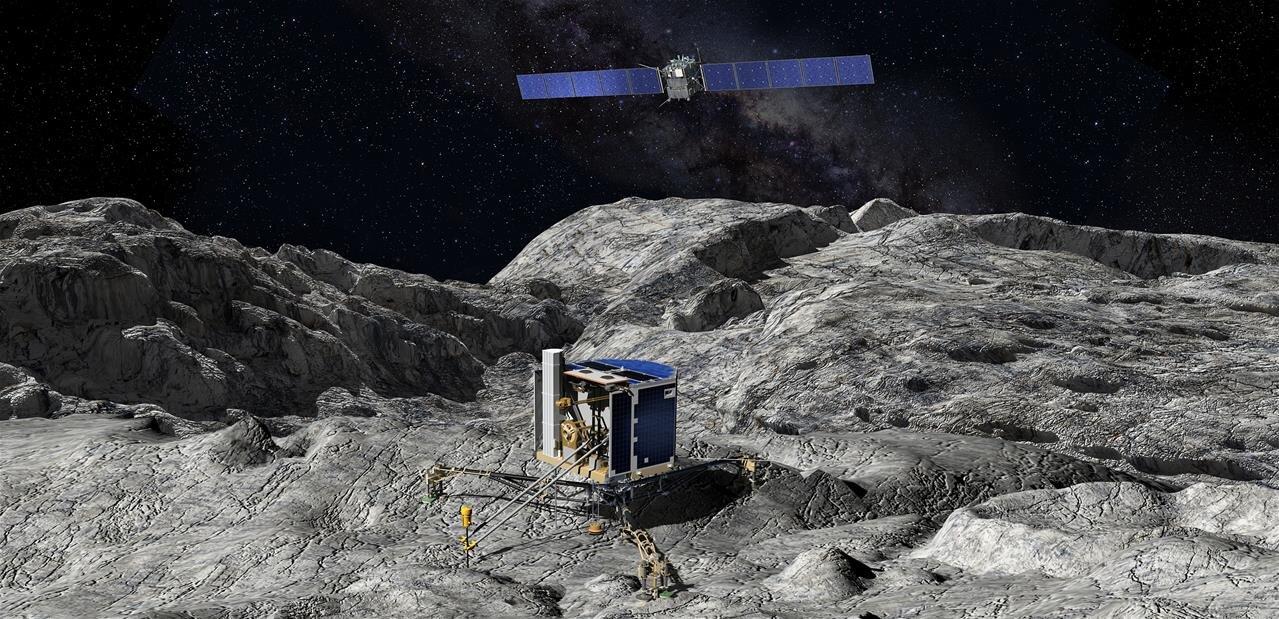 L'ESA a mis en ligne l'intégralité des photos (environ 100 000) de Rosetta