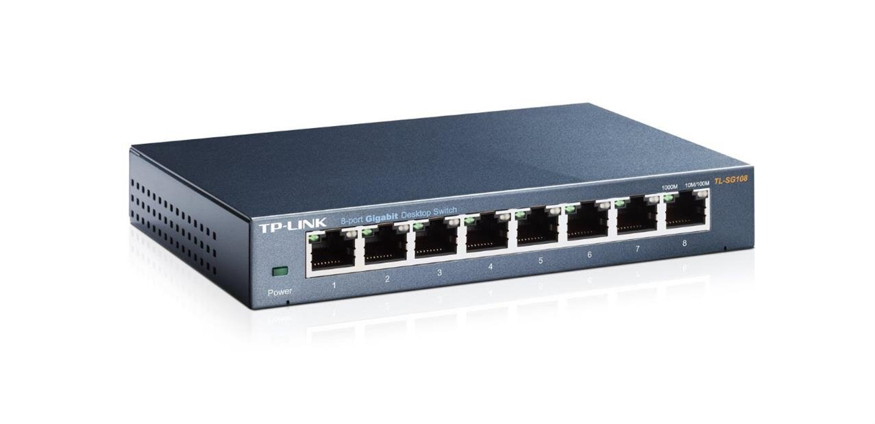 Un switch administrable TP-Link avec 8 ports Gigabit : 24 euros