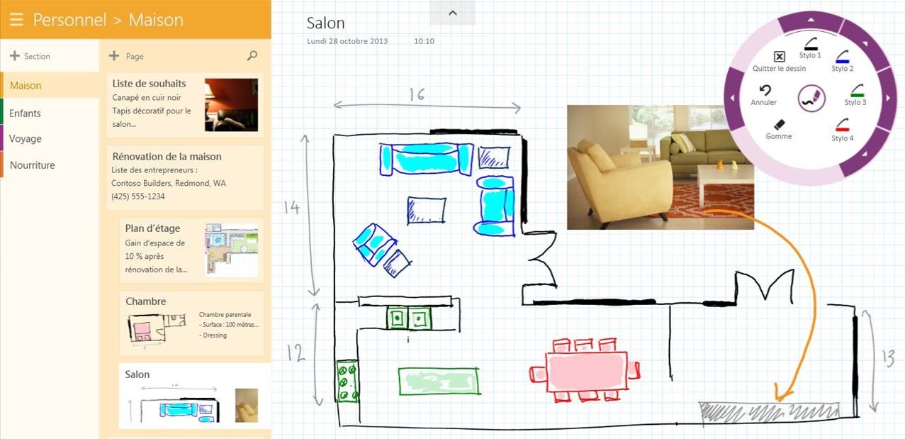 plan maison windows 8