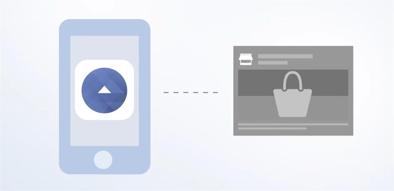 facebook d die une application la publicit et renforce messenger sur ios. Black Bedroom Furniture Sets. Home Design Ideas