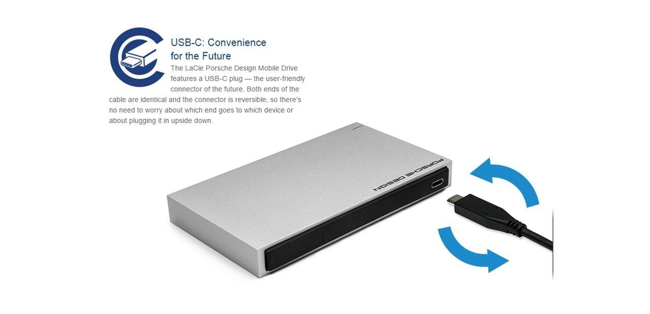 usb 3 0 type c r versible lacie annonce un disque dur externe sandisk une cl usb. Black Bedroom Furniture Sets. Home Design Ideas