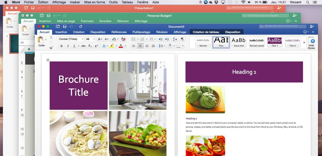 Office 2016 Mac collabore enfin en temps réel