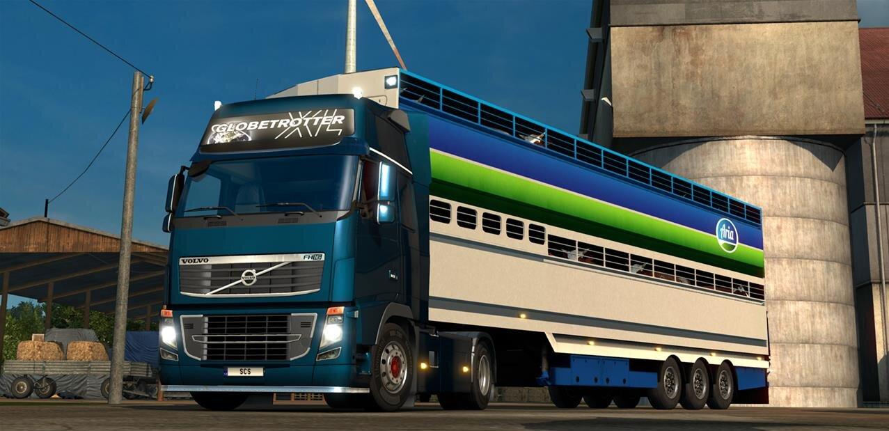 euro truck simulator 2 scandinavia the witcher n 39 a pas. Black Bedroom Furniture Sets. Home Design Ideas
