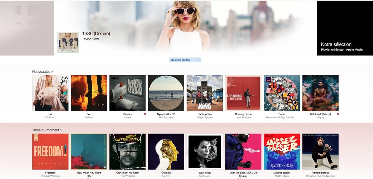 Apple lance une version web de son service Music, pour l'instant en bêta