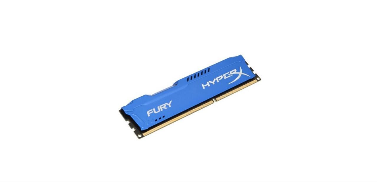 4 Go de DDR3 Kingston HyperX Fury à 1866 MHz : 18,74 euros