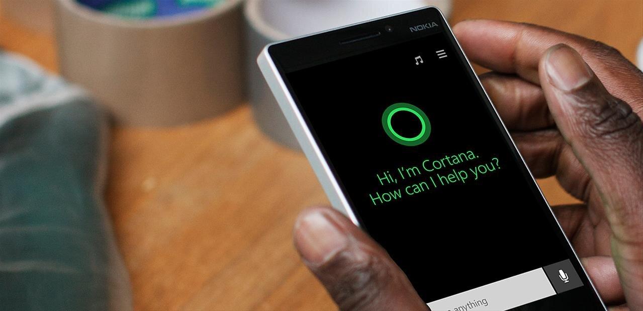 Cortana change de visage sur iOS