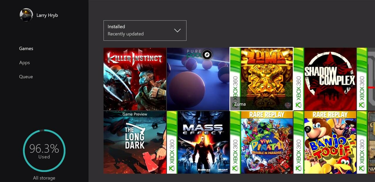 R trocompatibilit xbox 360 sur xbox one 104 jeux sont for Mirror xbox one to android