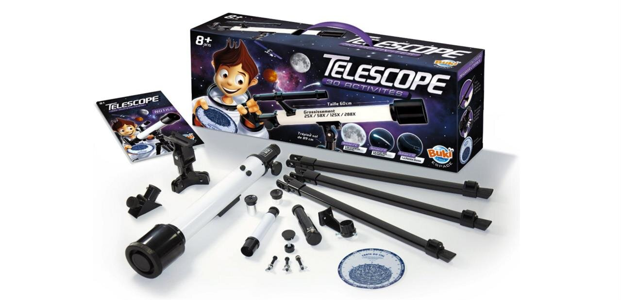 Un jeu scientifique télescope de Buki : 27,90 €