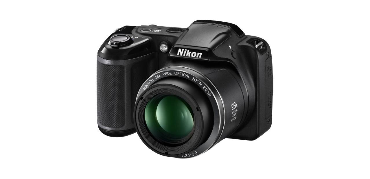 Un appareil photo Nikon Coolpix L340 (20,2 Mpx) : 129,99 €