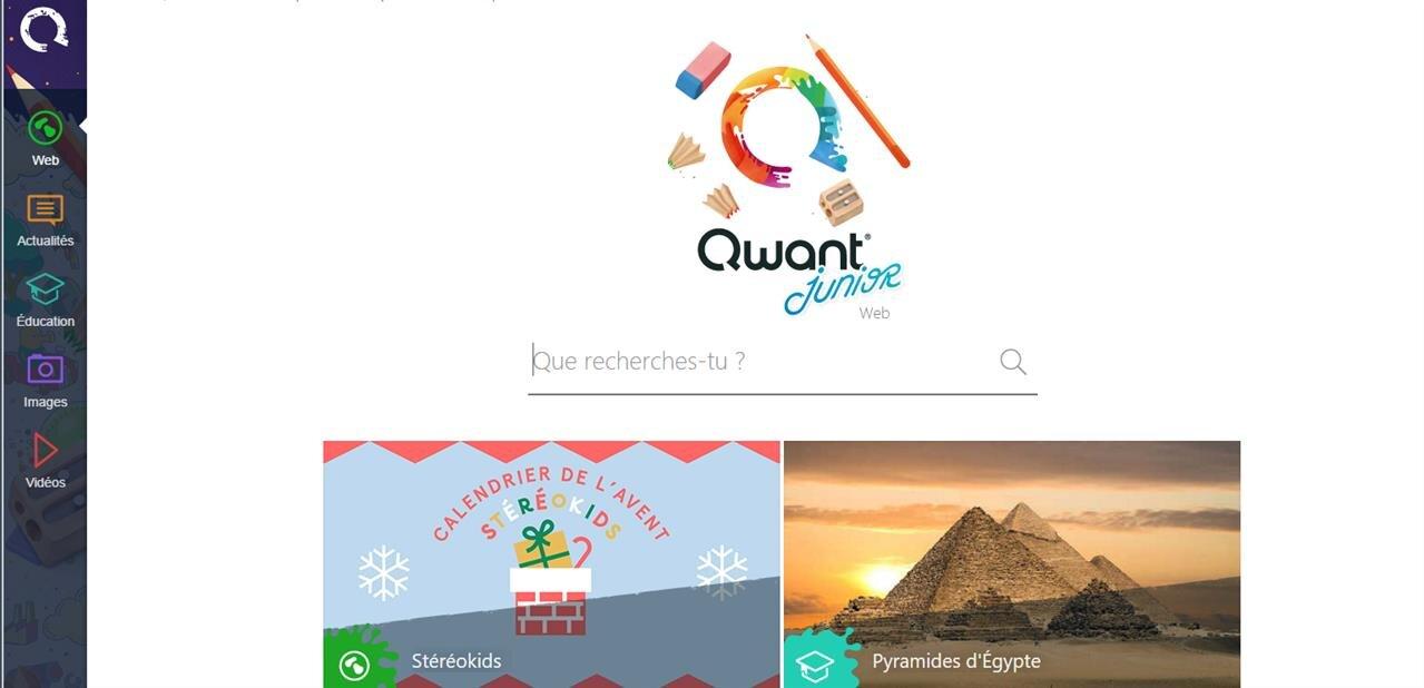 Qwant Junior est disponible sous Android et iOS