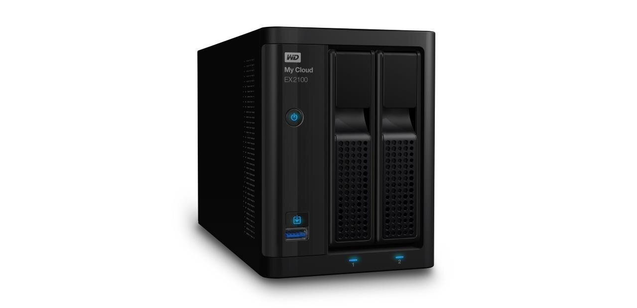NAS WD My Cloud Expert EX2100 avec un HDD Red de 1 To : 239,90 €