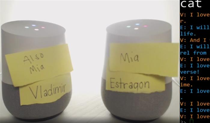 Deux intelligences artificielles se font la conversation '-thumbnail'