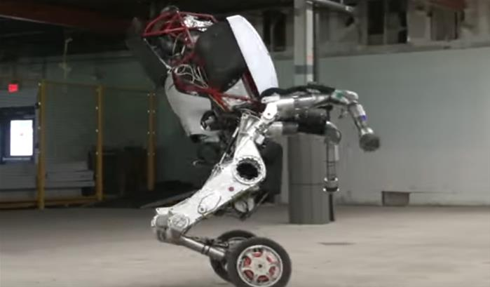 Handle, le dernier robot de Boston Dynamics '-thumbnail'
