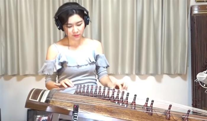 Luna Lee reprend The Unforgiven au gayageum