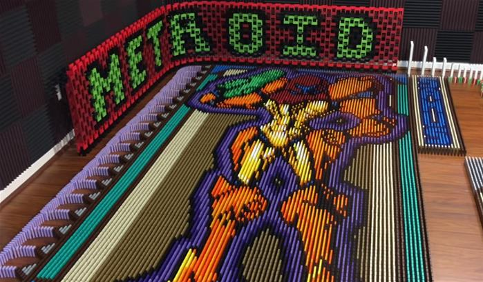 Samus Aran (Metroid), en 26 181 dominos