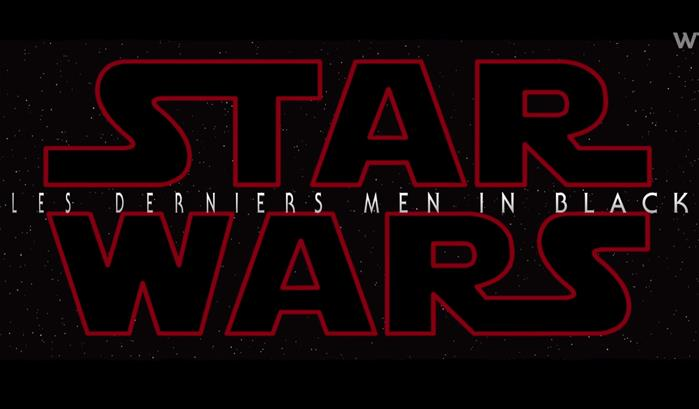 What's the Mashup présente Star Wars : Les derniers Men in Black
