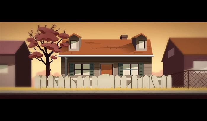 The Shaking of Leaves : une animation musicale qui a du chien