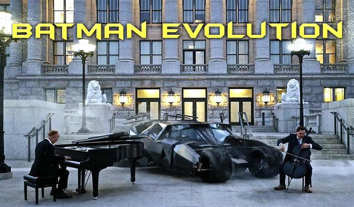 Les Piano Guys s'attaquent à l'évolution de Batman