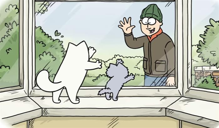Simon's Cat : le guide de l'amour félin